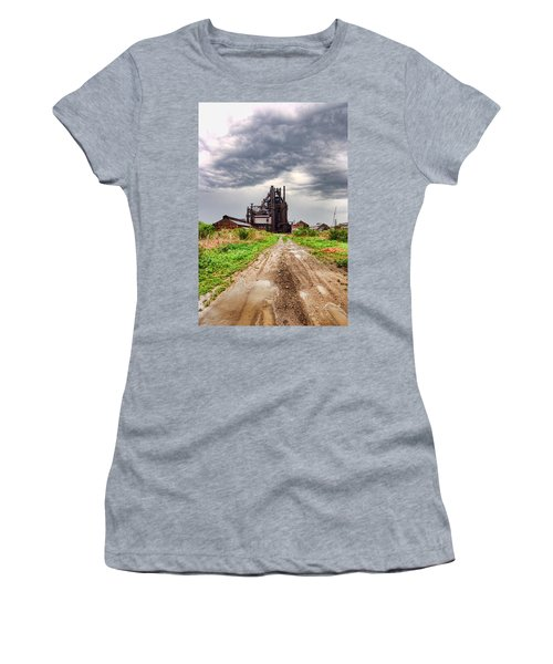 Bethlehem Steel Women's T-Shirt (Athletic Fit)