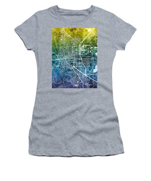 Boulder Colorado City Map Women's T-Shirt