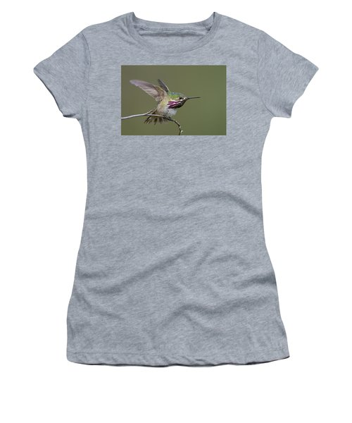 Calliope Hummingbird Women's T-Shirt (Athletic Fit)