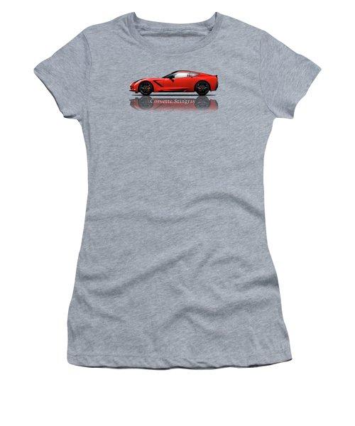 Chevrolet Corvette Stingray Women's T-Shirt