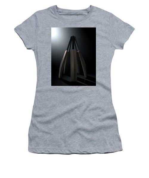 Cricket Back Circle Dramatic Women's T-Shirt (Junior Cut) by Allan Swart