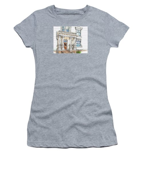 Essex Street Front Door Women's T-Shirt (Athletic Fit)