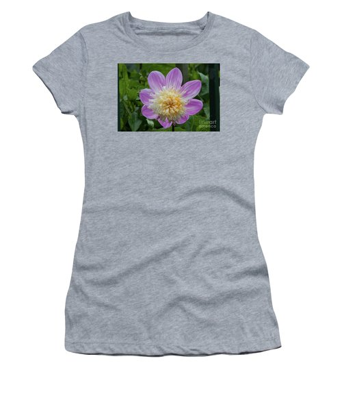 Golden Gate Park Dahlia Women's T-Shirt (Athletic Fit)