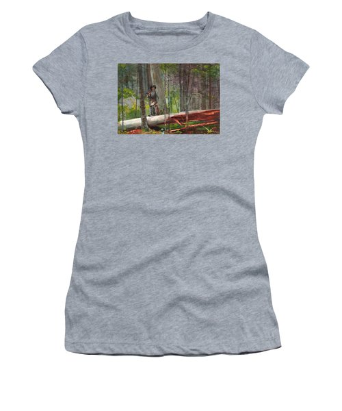 Hunter In The Adirondacks Women's T-Shirt