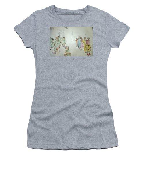 Mental Illness Hurts Album Women's T-Shirt (Athletic Fit)
