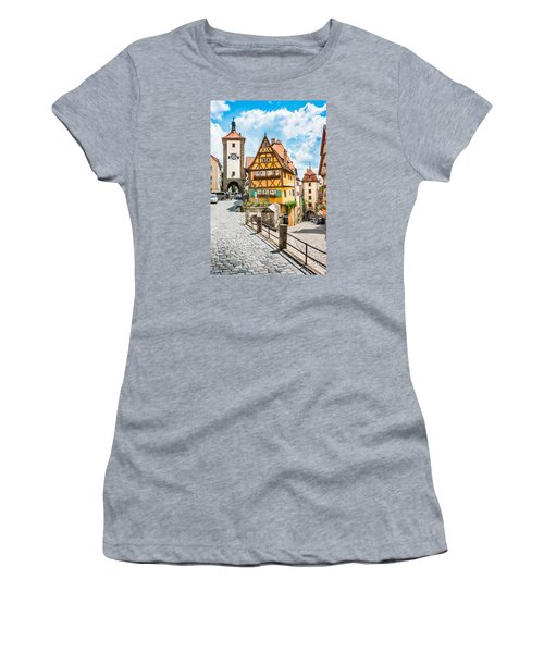Rothenburg Ob Der Tauber Women's T-Shirt (Athletic Fit)
