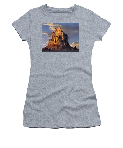 Shiprock The Basalt Core Of An Extinct Women's T-Shirt