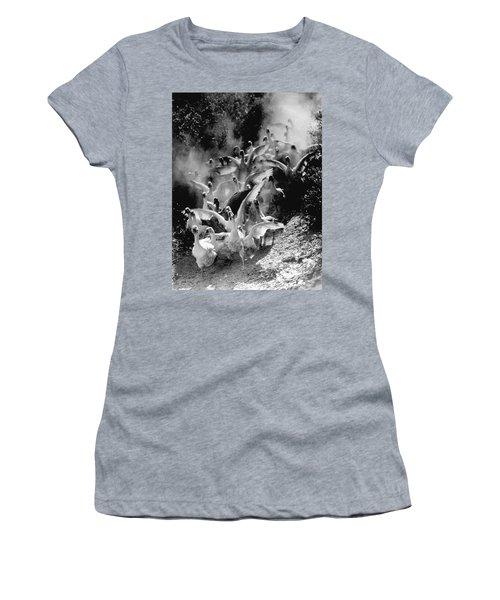 The Geese Flock Women's T-Shirt