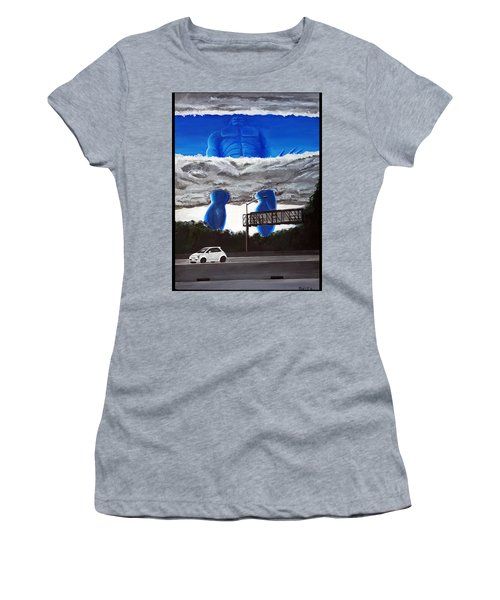 405 N. At Roscoe Women's T-Shirt (Athletic Fit)