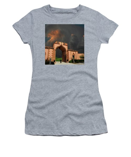 Women's T-Shirt (Athletic Fit) featuring the photograph 4470 by Peter Holme III