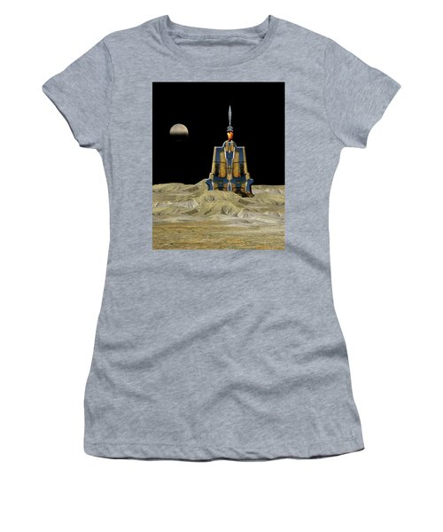 Women's T-Shirt (Athletic Fit) featuring the photograph 4481 by Peter Holme III