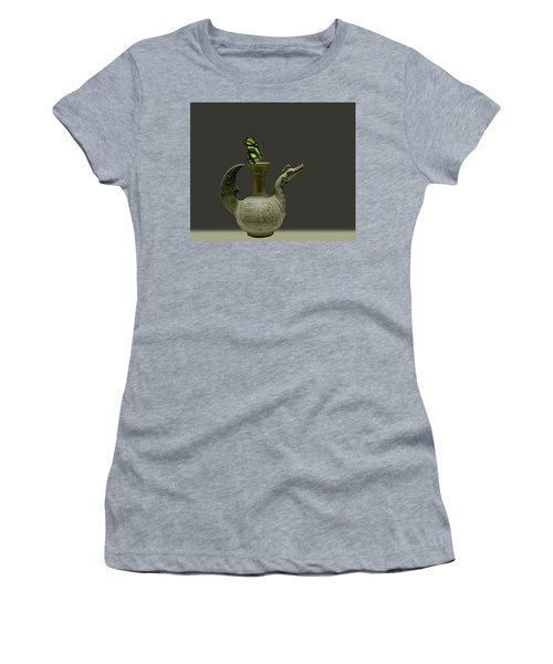 Women's T-Shirt (Athletic Fit) featuring the photograph 4482 by Peter Holme III