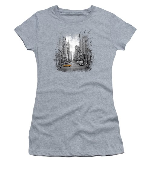 New York City 5th Avenue Women's T-Shirt (Athletic Fit)