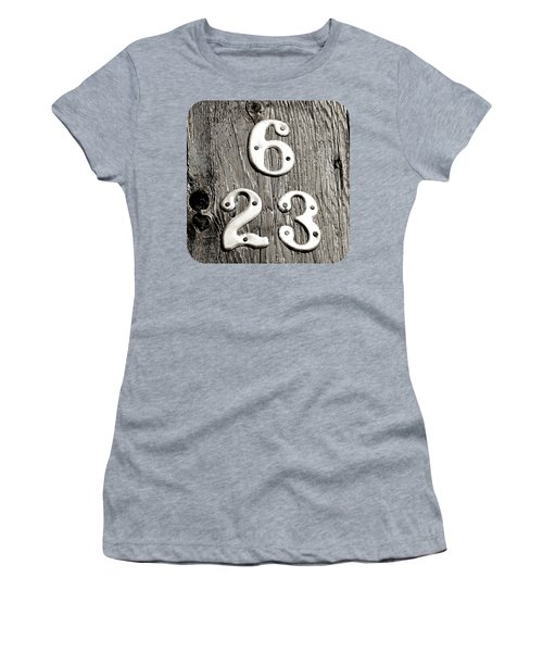 Women's T-Shirt (Junior Cut) featuring the photograph 6 Over 23 by Ethna Gillespie
