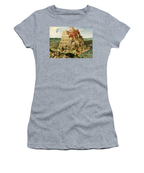 The Tower Of Babel  Women's T-Shirt