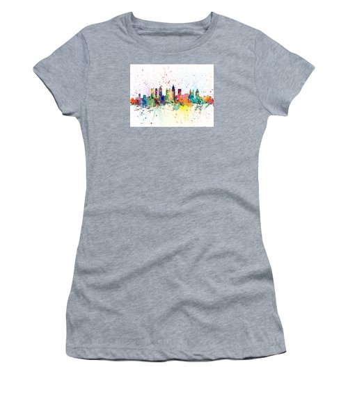 Atlanta Georgia Skyline Women's T-Shirt