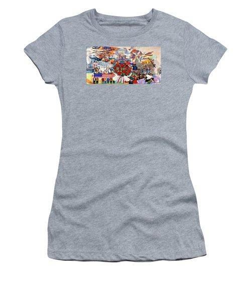 9/11 Memorial Towel Version Women's T-Shirt (Athletic Fit)