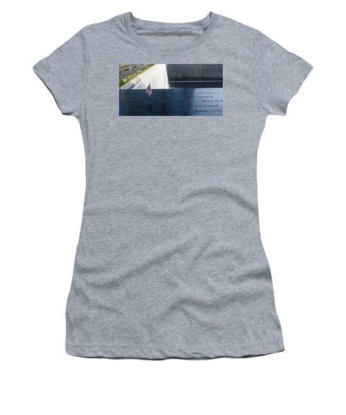 911 Memorial Pool-6 Women's T-Shirt (Athletic Fit)