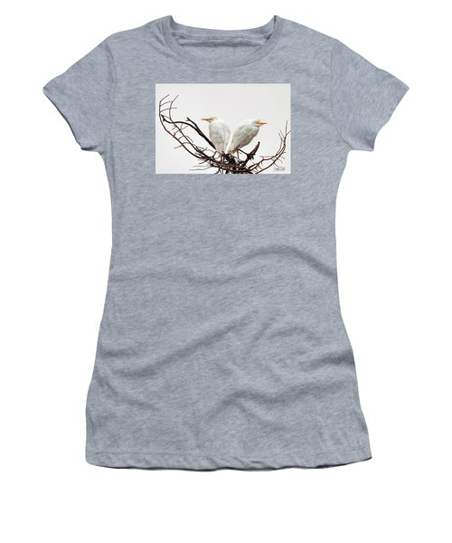 A Basket Of Anger Women's T-Shirt (Junior Cut) by Cyndy Doty