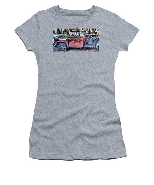 A Beautiful Rusty Old Tow Truck Women's T-Shirt