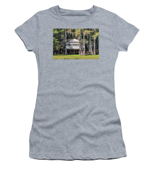 A Boggy Tea Room Women's T-Shirt (Athletic Fit)