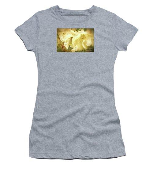 Women's T-Shirt (Junior Cut) featuring the photograph A Bunch Of Birthday Wishes by Jean OKeeffe Macro Abundance Art