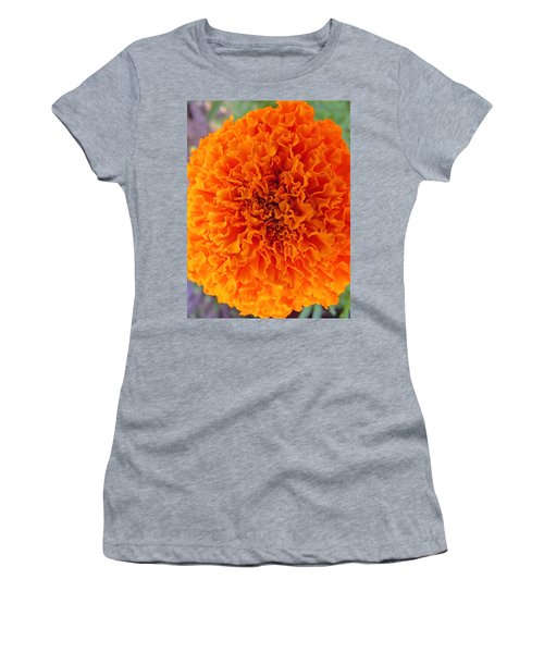 A Burst Of Orange Women's T-Shirt (Athletic Fit)