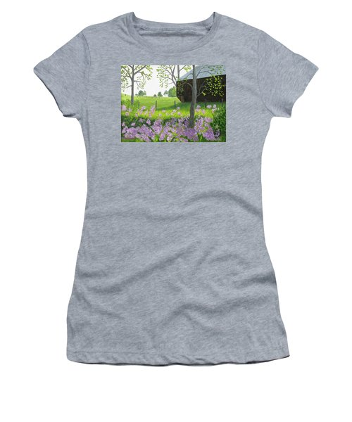 A Color Stands Abroad Women's T-Shirt (Athletic Fit)