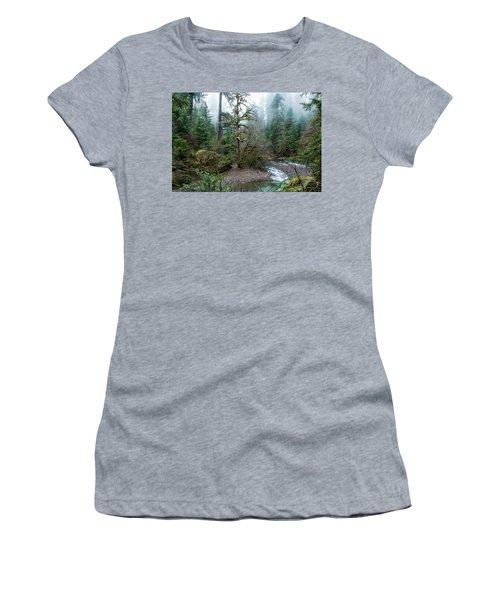 A Creek Runs Through It Women's T-Shirt