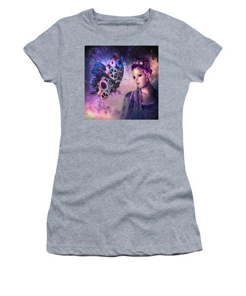 A Fairy Butterfly Kiss Women's T-Shirt