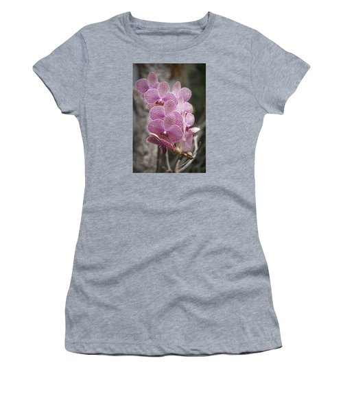 A Flight Of Orchids Women's T-Shirt (Athletic Fit)