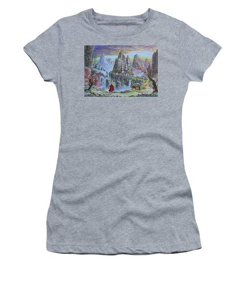 A Journey's End Women's T-Shirt (Athletic Fit)