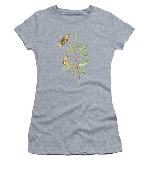 A Kanalla Branch With A Butterfly By Cornelis Markee 1763 Women's T-Shirt