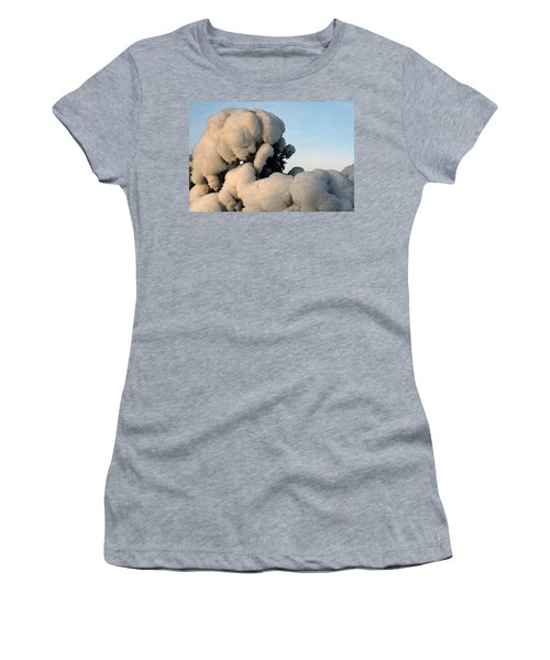 A Lick Of Snow On The Bush Women's T-Shirt (Athletic Fit)