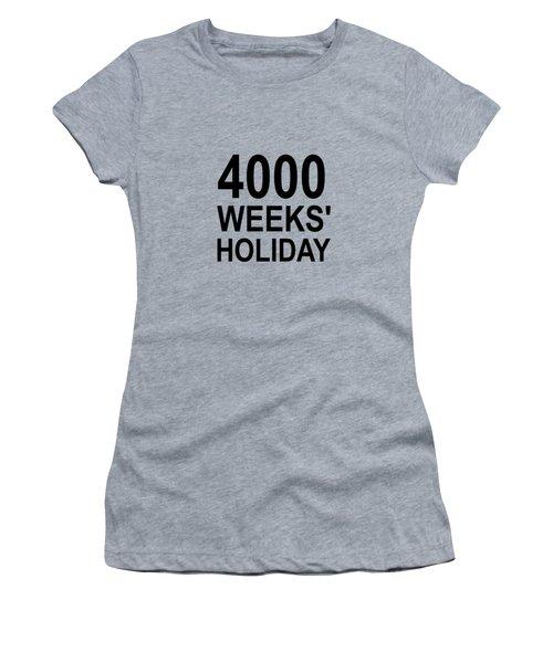 A Lifetime Women's T-Shirt (Athletic Fit)