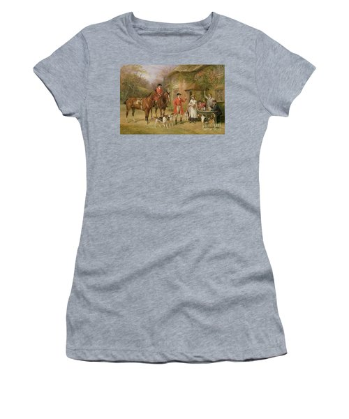 A Meeting At The Three Pigeons Women's T-Shirt (Athletic Fit)