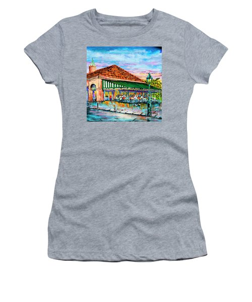 A Morning At Cafe Du Monde Women's T-Shirt