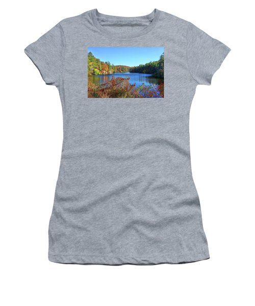 A North Carolina Autumn Women's T-Shirt (Athletic Fit)