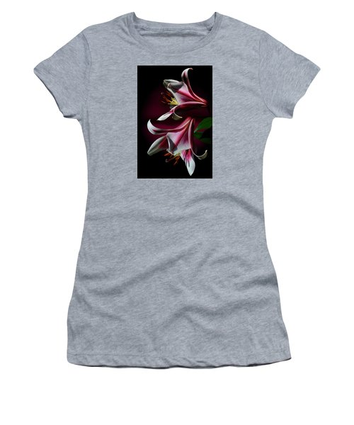 A Pair Of Lilies Women's T-Shirt (Athletic Fit)