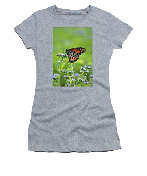 Women's T-Shirt (Junior Cut) featuring the photograph A Sip Of Mist by JD Grimes