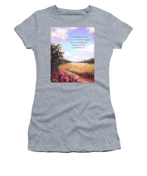 A Spring To Remember With Bible Verse Women's T-Shirt