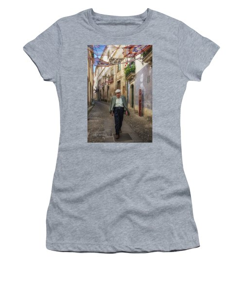 A Stoll In Coimbra Women's T-Shirt (Junior Cut) by Patricia Schaefer