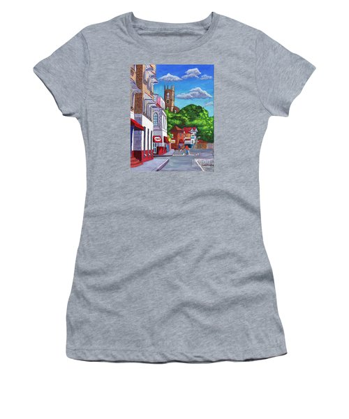 A Stroll On Melville Street Women's T-Shirt (Athletic Fit)