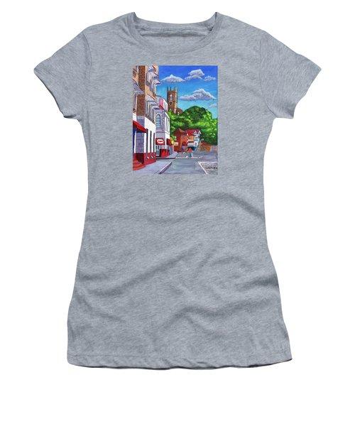 A Stroll On Melville Street Women's T-Shirt