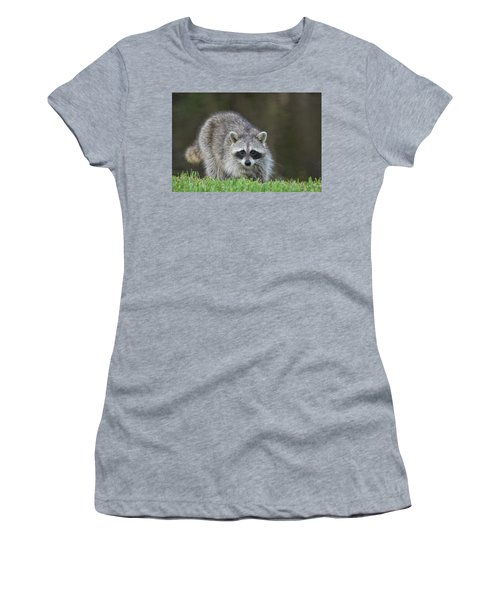 A Surprised Raccoon Women's T-Shirt (Athletic Fit)