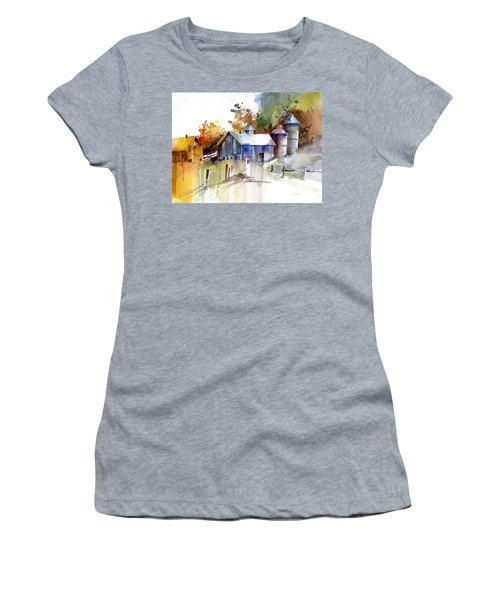 A Walk To The Barn Women's T-Shirt