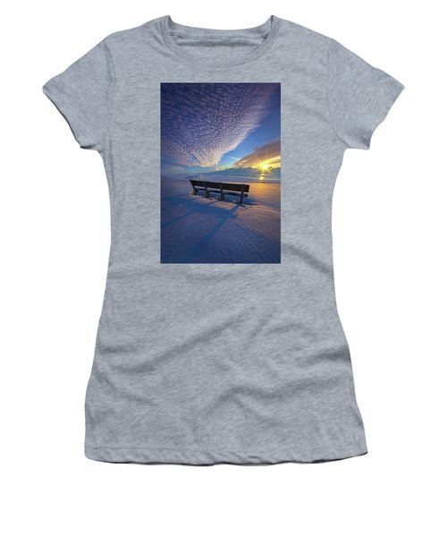 A Whole World In Front Of Us Women's T-Shirt