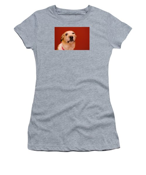 Abbie And A Milky Bone Women's T-Shirt (Athletic Fit)