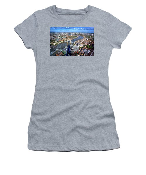 Above The Shadow Of The Shard Women's T-Shirt (Athletic Fit)