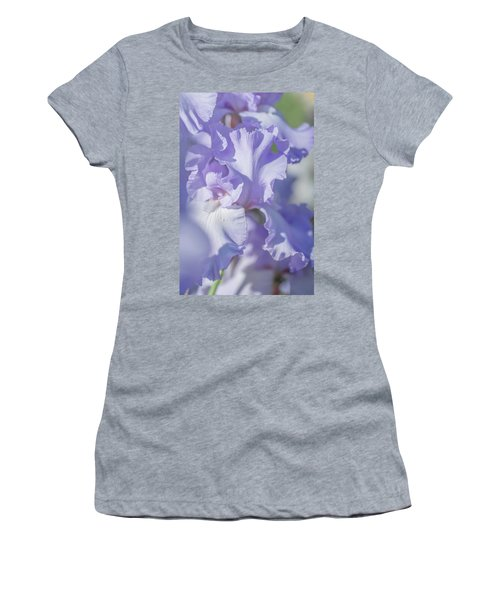 Absolute Treasure Closeup 2. The Beauty Of Irises Women's T-Shirt